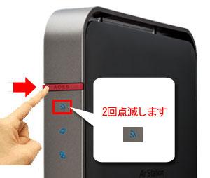 AOSS/WPSボタン