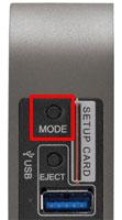 MODEボタン