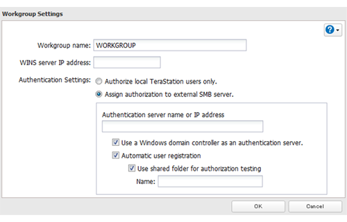 How to Configure Delegating Authority to an External SMB Server