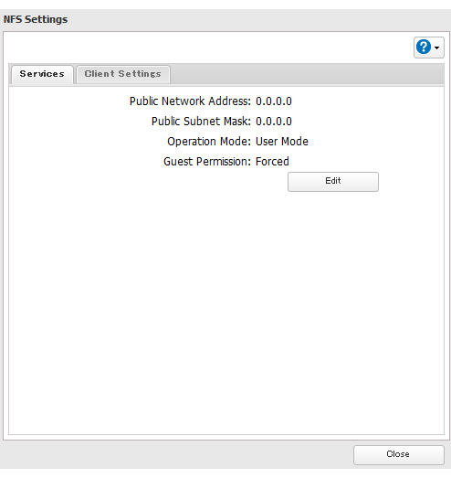 How to Access from a NFS Client - Details of an answer