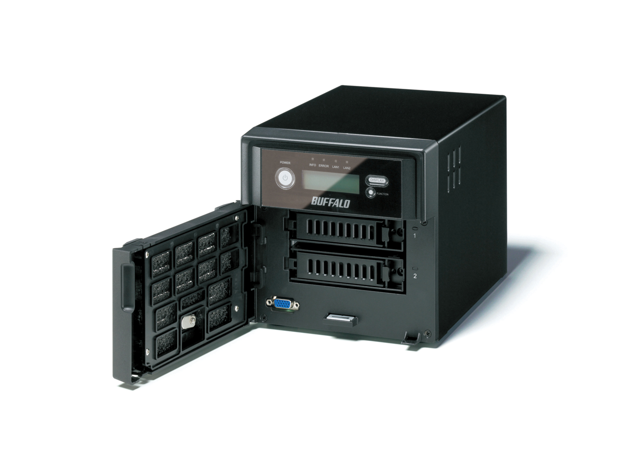 High-Performance Double-drives RAID NAS for Small to Medium